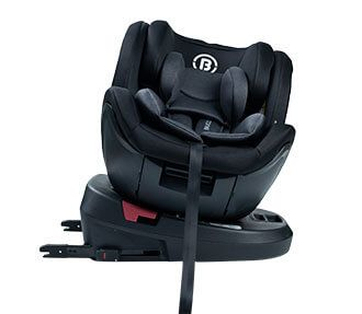 BC800F 360° Rotation Group 0123 Baby Car Seat